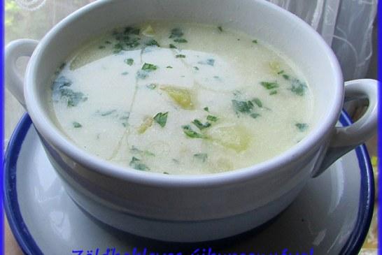Zöldbableves újburgonyával, recept