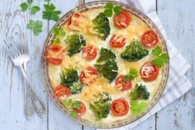 Gyors Tejszínes-brokkolis rakott tészta - recept