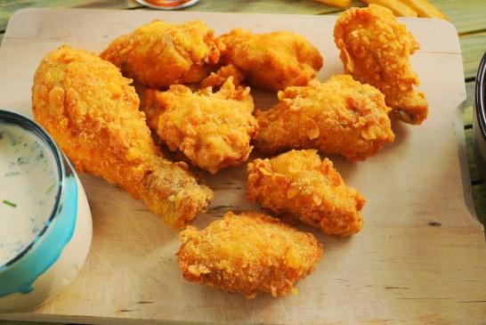 OMG: KFC csirke házilag! Ropogós bundával és ranch mártogatóssal , recept