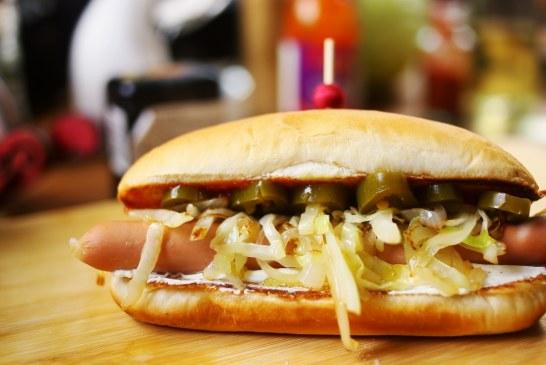 A Seattle hot dog - recept