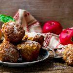 Almás zabpelyhes muffin, recept