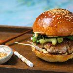 Ázsiai burger malaccsászárrals, recept