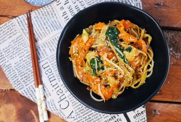 Csirke Chow Mein, recept