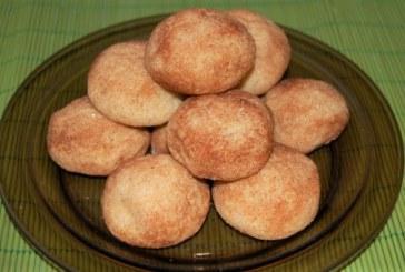 Fahéjas gombócok (teasütemény) , recept