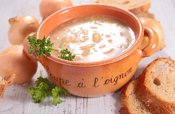 Az igazi francia hagymaleves