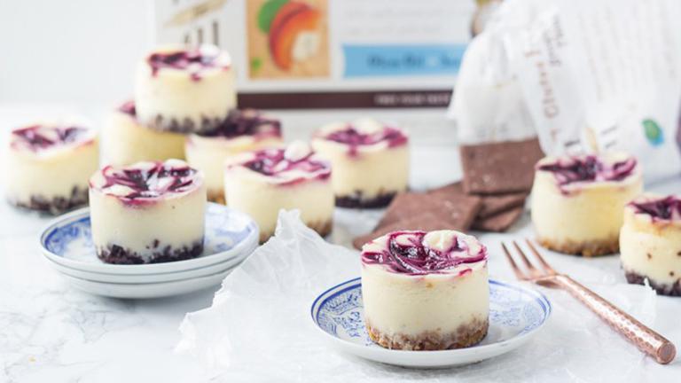 Gluténmentes mini sajttortácskák