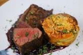 Szarvas steak, spenótos felfújttal, recept
