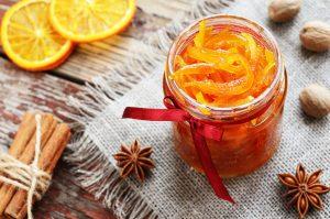 Kandírozott narancs