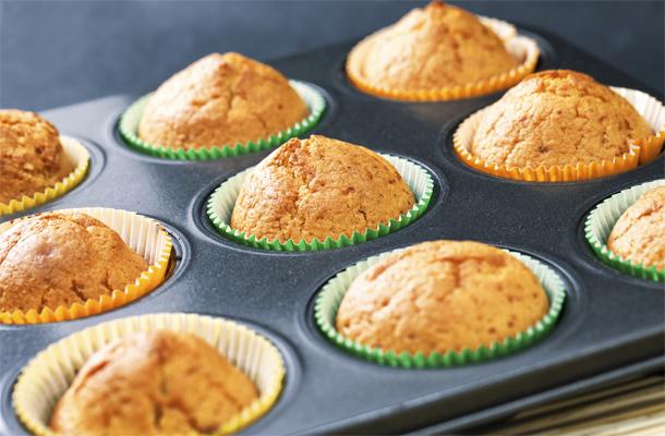 Illatos narancsos muffin fél óra alatt