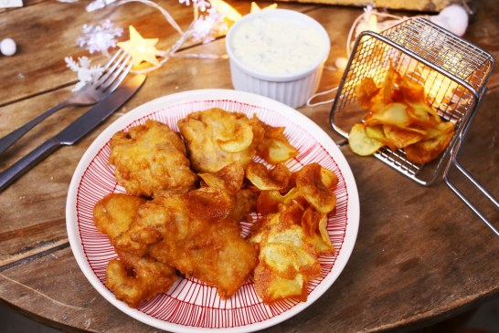 Ponty fish & chips remulád mártással - recept