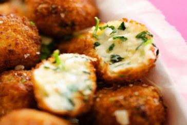 Különleges köret: spenótos-sajtos krokettek, recept