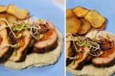 Házi kolbászkeverékkel töltött sertésszűz csicsókavariációkkal, recept