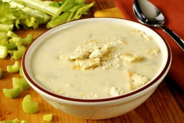 Tejszínes-fokhagymás zellerkrémleves - recept