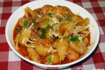 Olasz babos tészta (pasta e fagioli), recept