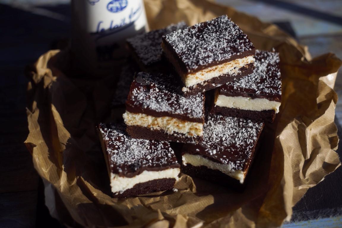 Bounty brownie