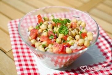 Portugál 5 perces csicseriborsó saláta, recept