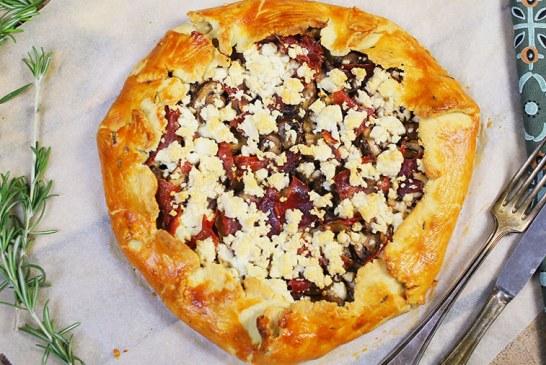 Galette, avagy Sonkás-sajtos pite, recept