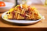 Taco, ami baconből készül - recept