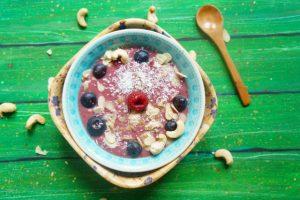 Kókuszos smoothie bowl