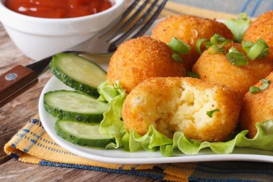 Sajtos krumpligolyó ropogós bundában - A legjobb köret, amit eddig ettél, recept