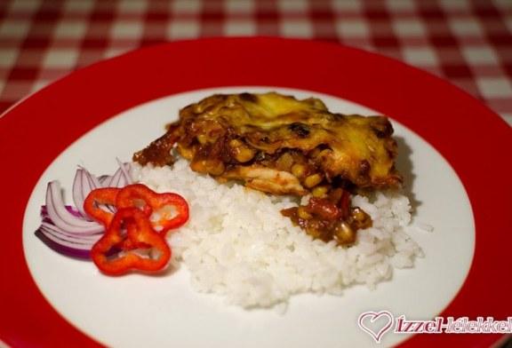 Mexikói csirke, recept