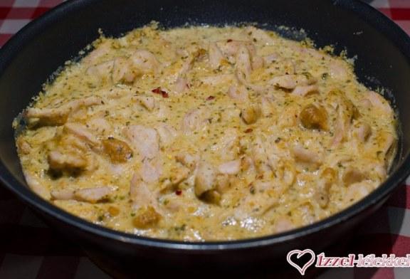 Mogyorós-chilis csirkecurry, recept