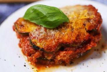 Olaszos rakott cukkini sok-sok mozzarellával, recept