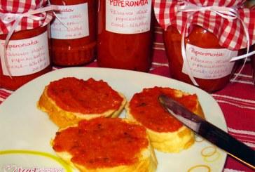 Fűszeres olasz paprikakrém (Pepperonata), recept