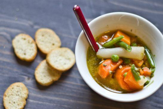 Hétvégi menü hős diétázóknak - Téli zöldségleves gazdagon , recept