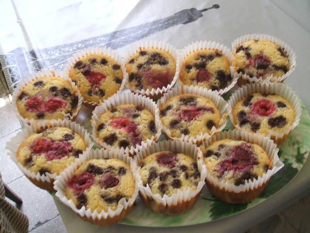Egyszerű és gyors: Erdei gyümölcsös muffin