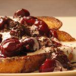 Feketeerdő french toast, recept