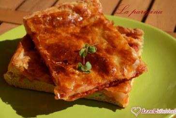 Nápolyi pizzaszendvics (la pizza parigina napoletana), recept