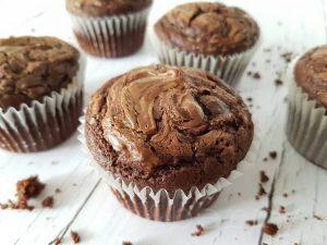 Roppanós mázas Nutellás Muffin