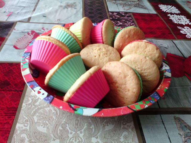 Vanília pudingos muffin