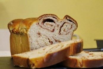 Könnyű Áfonyás sajtos édes kalács, recept