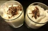 Főzött vanília pohárkrém, recept