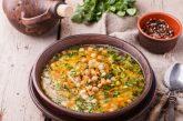 Francia zöldségleves csicseriborsóval, recept