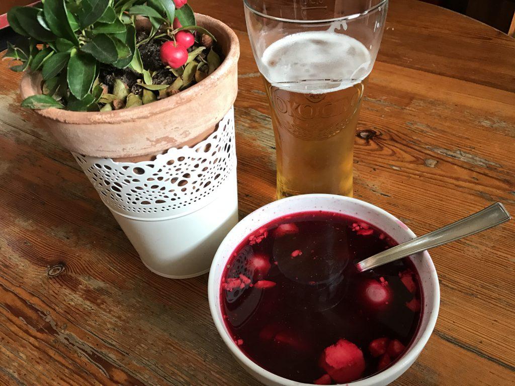 Főzés nélküli eredeti Lengyel-tátrai Barszcz ( Borcs ) leves