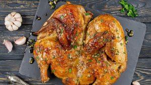 Különleges grúz csirkesült