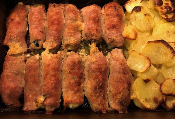 A legjobb karaj recept - Brokkolis omlós sertéskaraj