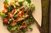 Üde - füstölt makréla saláta, recept