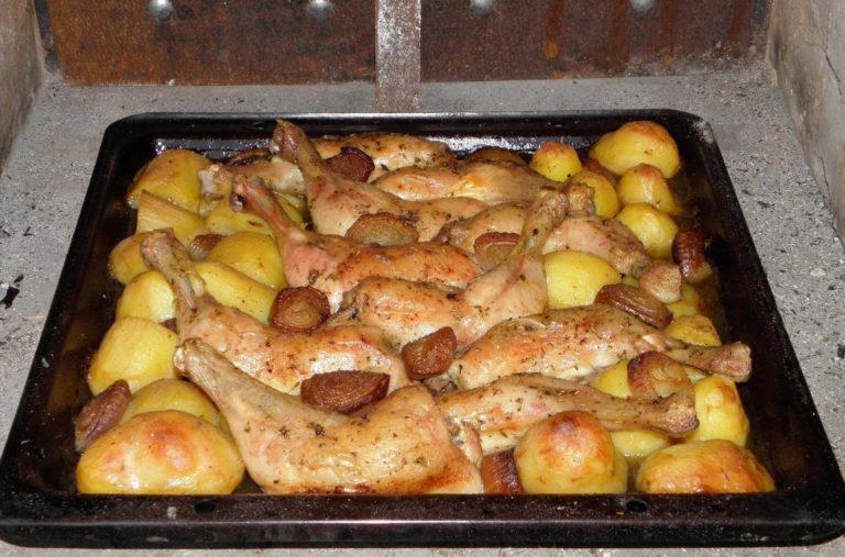 Csirkecomb pékné módra