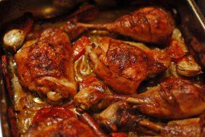 Mennyi omlós, tepsis sült Csirkecombok