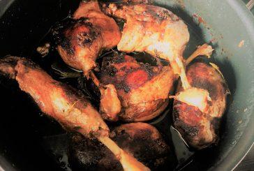 Omlós Kacsasült , friss kakukkfűvel - recept