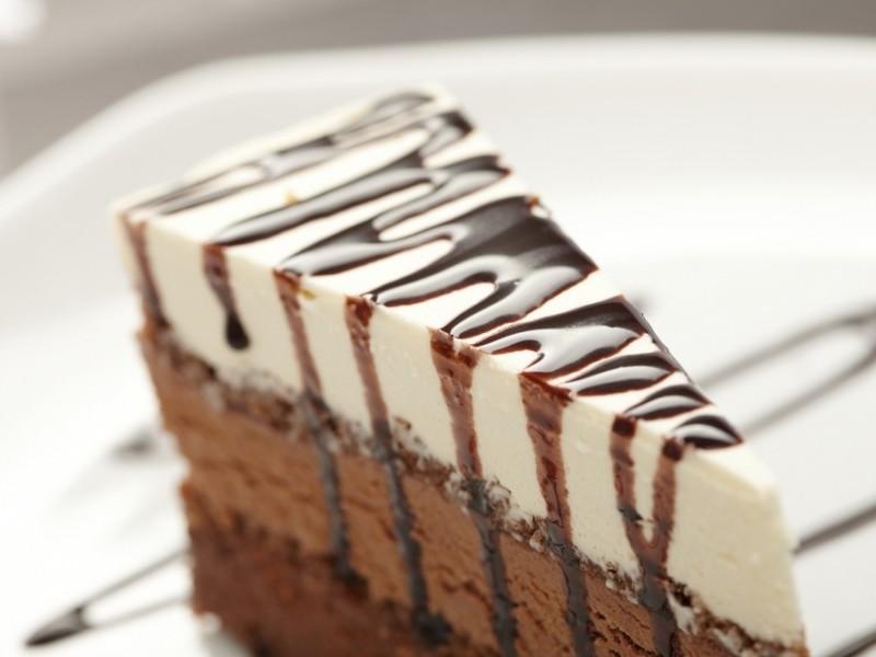 Sütés nélküli csokis túrós sütemény