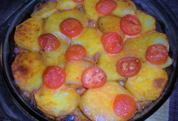Villám kaja - Rakottas Krumpli, recept