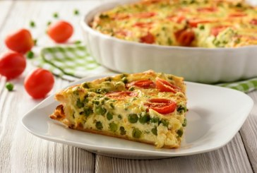 Zöldséges quiche eredeti párizsi recept szerint