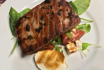 Pácolt-sült Tonhal steak