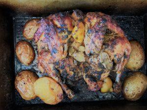tökéletesen ropogós grill csirke