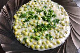 ZöldBorsó főzelék, recept